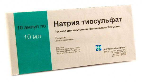 nátrium-tioszulfát. pikkelysömör kezelése